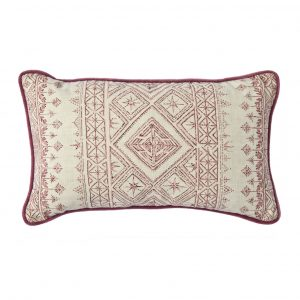 Raspberry Fez cushion